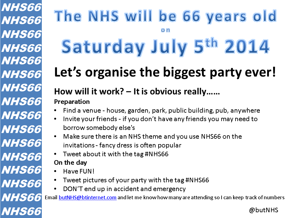 NHS66party